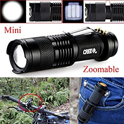 Fashion Outlet Ultra Slim XP-1 CREE XPE-R3 LED1000LM Mini Flashlight Clip Lamp Penlight Torch Powered by 1 x AAA Battery (not include)