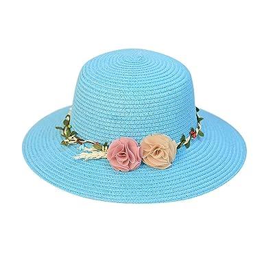 7da524f1a0254 Sombreros de ala Ancha Fedora de Lana para Mujer Sombreros de sombrerera de  Jazz para Hombres