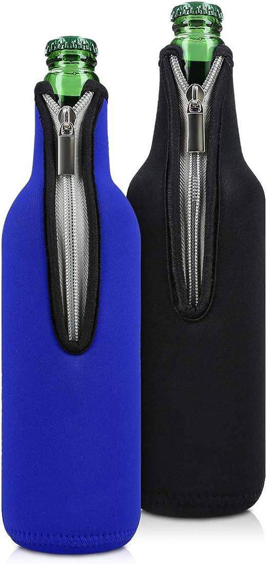Flaschenkühler Neopren im Sommer-Set 2 x Bierkühler
