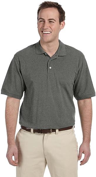 16d89d7f Harriton Men's 5 oz. Easy Blend Polo Sport Shirt M265 at Amazon ...