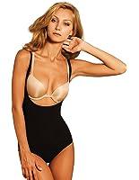Body Wrap Lites - Combinaison Taille Haute Courte Sous Buste - Noire 47005
