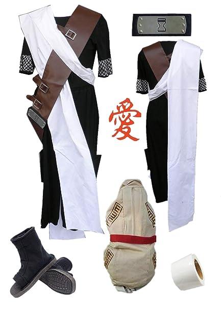 Amazon.com: Naruto Sabakuno Gaara - Disfraz de Gaara (juego ...