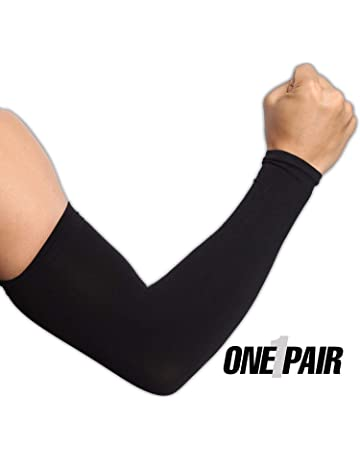 7fbdfe1b4a UV Protection Cooling Arm Sleeves - UPF 50 Compression Sun Sleeves for Men  & Women for