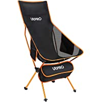 Risepro Upgraded Outdoor Camping Chair Portable Lightweight Folding Camp Chairs with Head, Neck Rest & 2-Sided Pocket…