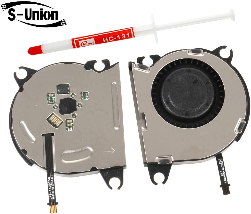 S-Union New Replacement Internal Cooling Fan for Nintendo Switch NS 2017 Console