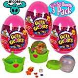 "Glitzi Globes ""Series 2"" Find-A-Surprise Egg Mystery Packs Gift Set Party Bundle - 3 Pack"