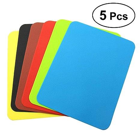 BESTONZON 5 Piezas 20,5 x 15,7 cm Silicona pastelera Enrollable Molde para