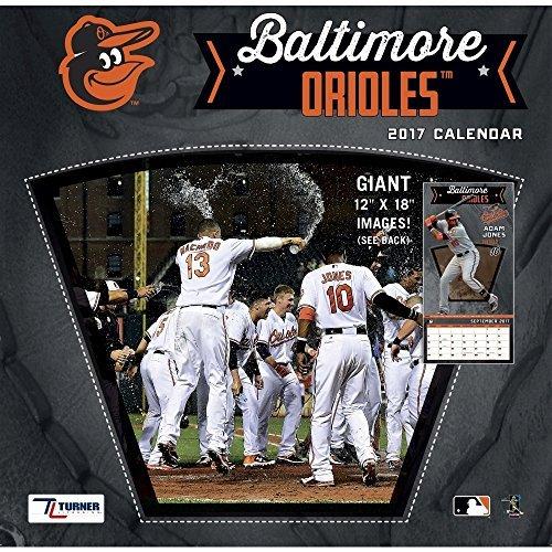 (Turner Licensing Sport 2017 Baltimore Orioles Team Wall Calendar, 12