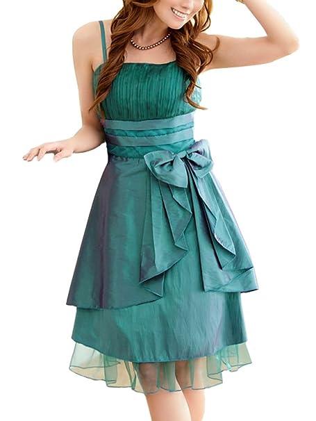 f83e2adbf139 VIP Dress abito per il ballo di fine anno in verde  Amazon.it ...