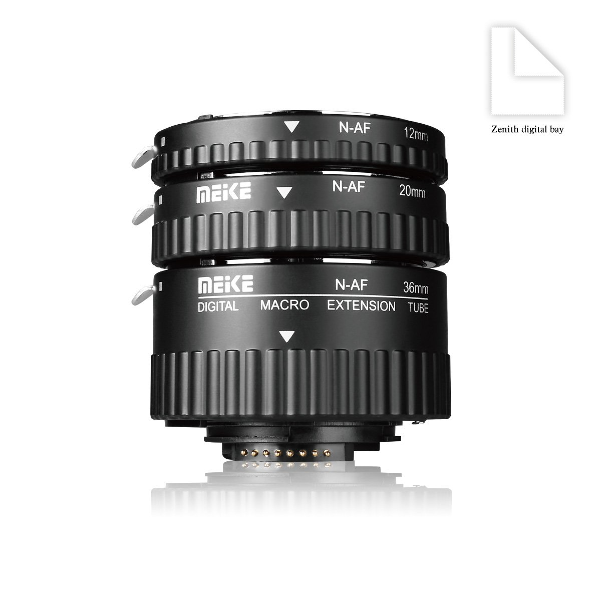 Meike mk-n-af1-b plastica elettronica supporto tubo di prolunga macro auto Foucs adattatore per fotocamere DSLR e Nikkor AF AF-S g ed VR serie D Nikon D80/D90/D300/D300SD800/D3100/D3200/D5000/D51000/D5200/D7000/&