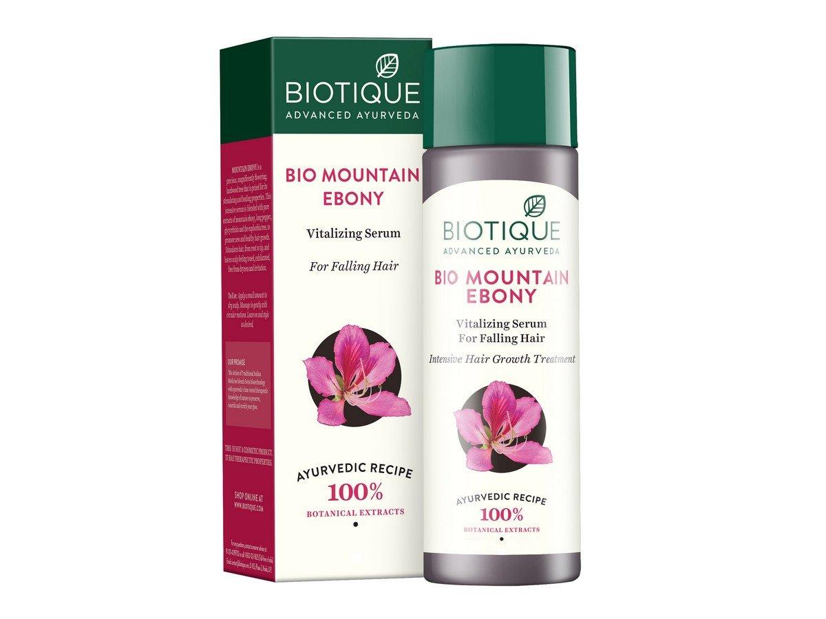 Biotique Fresh Growth Stimulating Serum - Mountain Ebony 120ml RETML120012