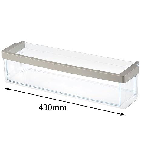 Spares2go - Bandeja para puerta de congelador Bosch (430 x 115 x ...