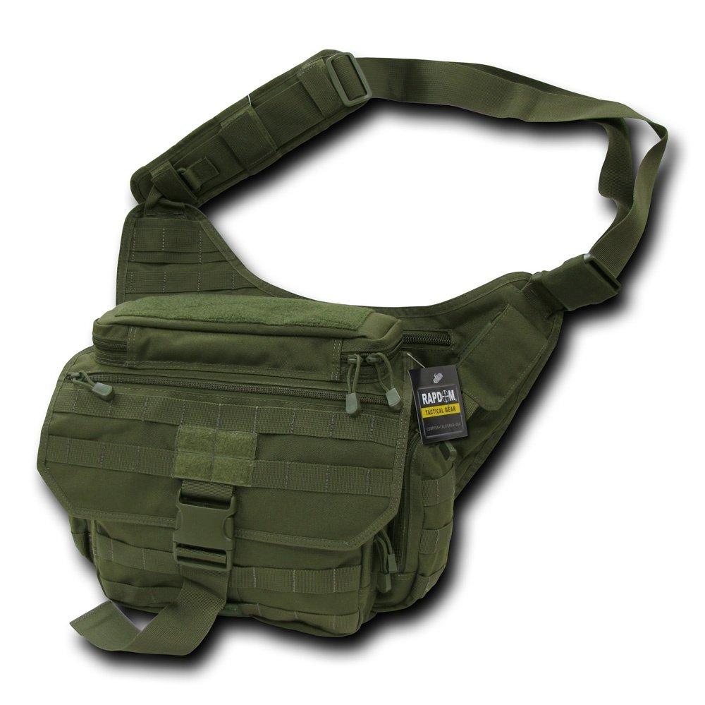 Rapdom Tactical Messenger Bag, Black Rapid Dominance T311-BLK