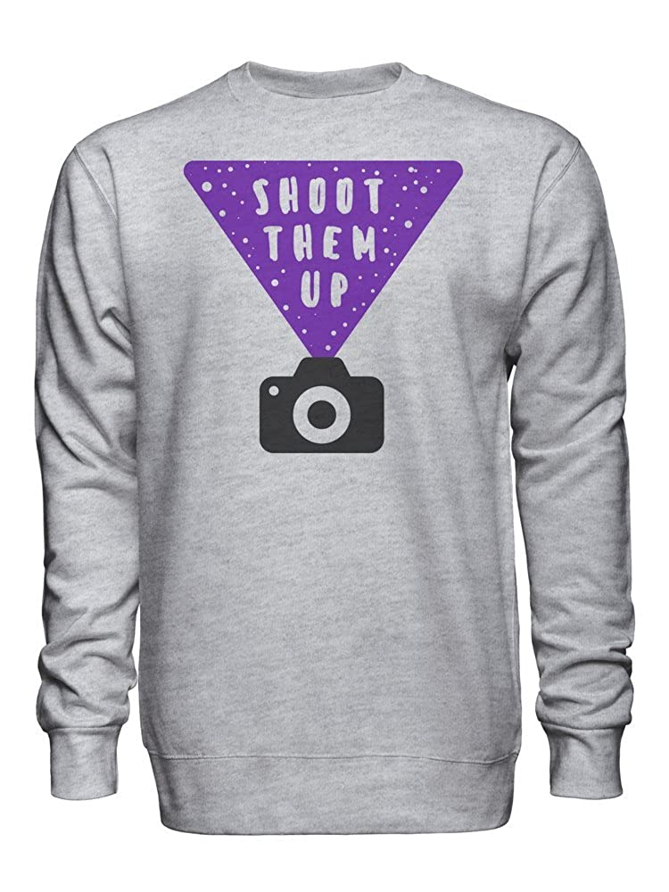 Shoot Them Up Unisex Crew Neck Sweatshirt