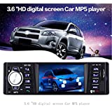 AUTOLOVER 3615B 3.6 inch Car Audio Stereo TFT Screen Rear View Camera Bluetooth V2.0 12V Auto Video MP5 AUX FM USB SD MMC Remote Control