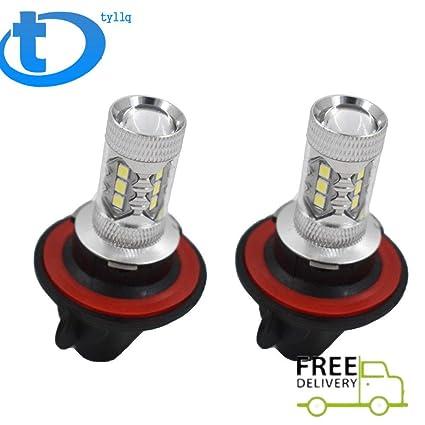2X 100W CREE LED Headlight Bulb For Polaris Ranger RZR 570S 800S 900S 1000 XP