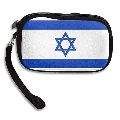Amazon.com: Monedero bandera de Israel personalizado ...