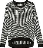 RVCA Women's Light up Sweater, Black, M