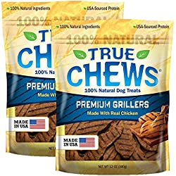 True Chews Premium Chicken Griller for Pets, 24 Ounce