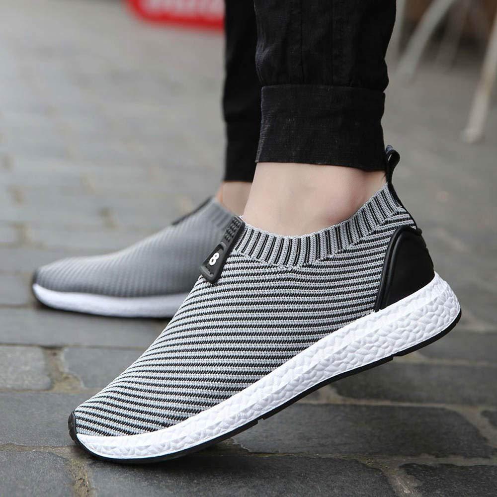8f473942eec Zapatos de hombre JiaMeng Suave Respirable Moda Zapatillas de ...