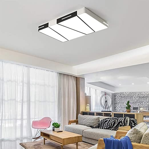 Amazon.com: Sheen Modern Square Ceiling Light Fixture, Led ...