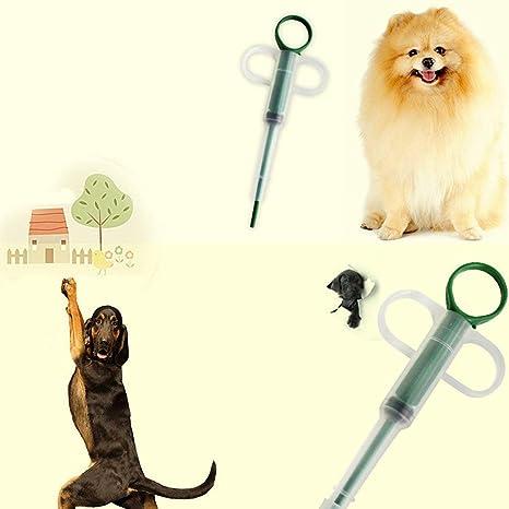 sdfghaWSEfdfghsfgh Pastillas Inicio dispensador de Medicina de la Alimentación Animales Perros Gatos Tableta Medicina alimentador(