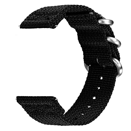 VIGOSS Band for Galaxy Watch 46mm / Gear S3 Classic Watch Band/Gear S3 Frontier Band, 22mm NATO Premium Woven Nylon Band Strap for Samsung Gear S3 ...