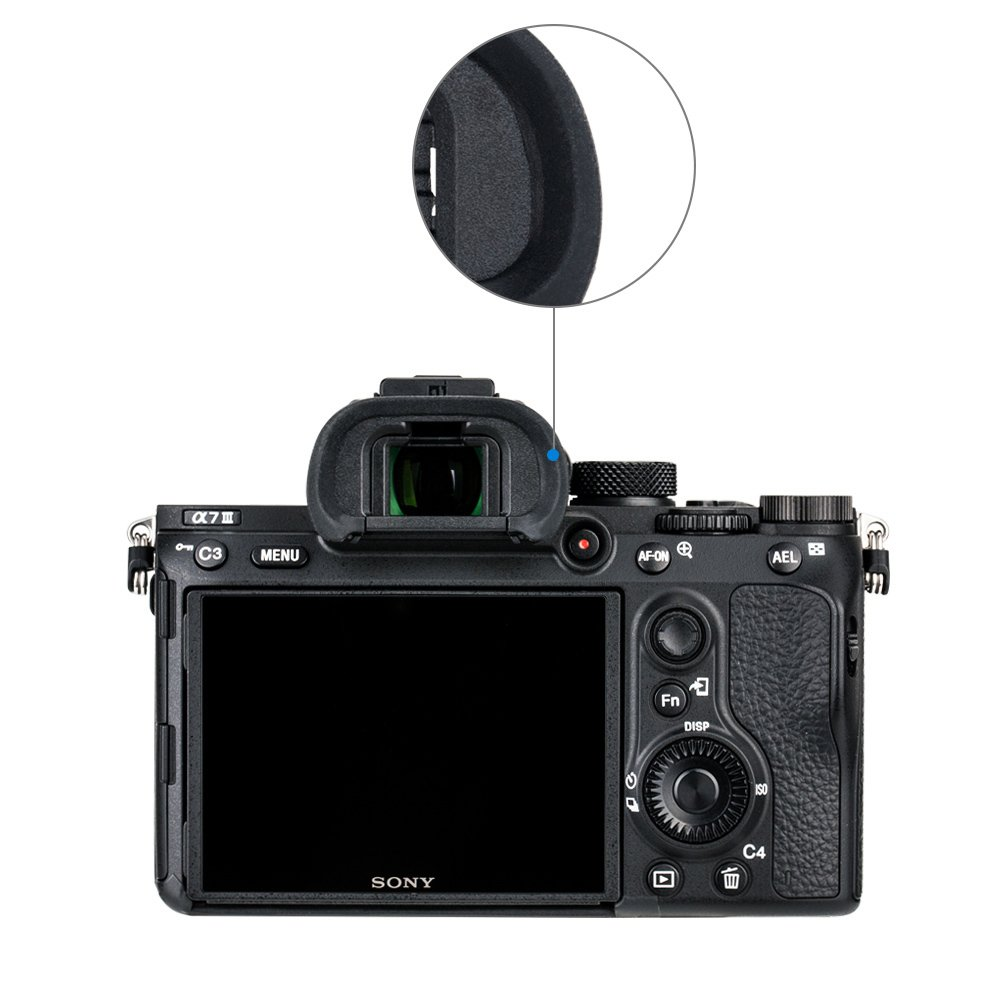 X-T3 X-T2 EC-XT S and EC-XH W GFX 50S Replaces Fujifilm EC-XT L EC-XT M 2pcs Per Package EC-GFX X-T1 JJC Soft Silicone Eyecup Eyepiece for Fujifilm X-H1
