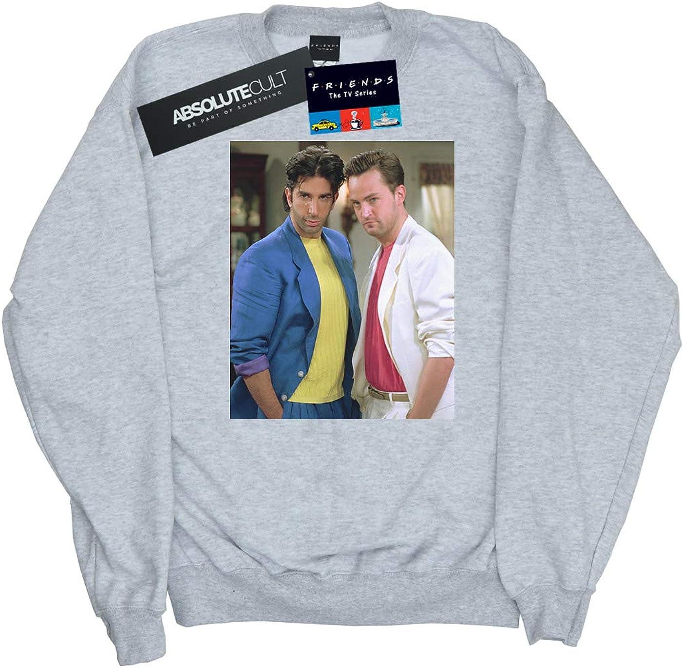 Absolute Cult Friends Girls 80s Ross and Chandler Sweatshirt