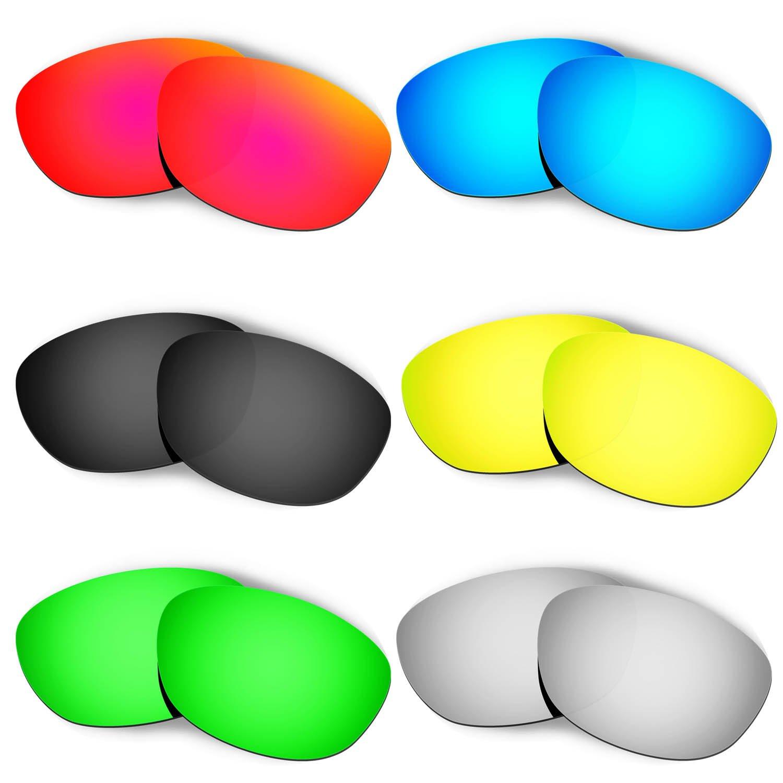 Hkuco 交換用レンズ Oakley Fives 2.0 マルチオプション型偏光  レッド/ブルー/ブラック/ゴールデン/チタンカラー/グリーン B01LAPI2DU