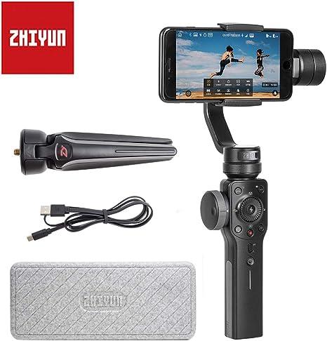 Zhiyun - Estabilizador de Mano de 4 y 3 Ejes para Smartphone ...