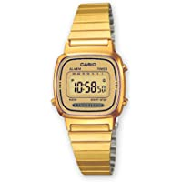 Casio Collection Damen Retro Armbanduhr LA670WEGA