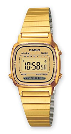 Casio LA-670WEGA-9EF Ladies Collection Gold Watch