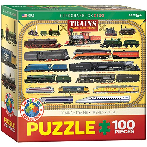 Trains 100 Piece Jigsaw Puzzle product image