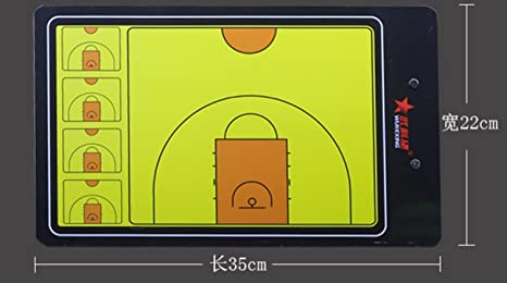 Entrenador magnéticos tácticas de baloncesto Panel gráfico: Amazon ...