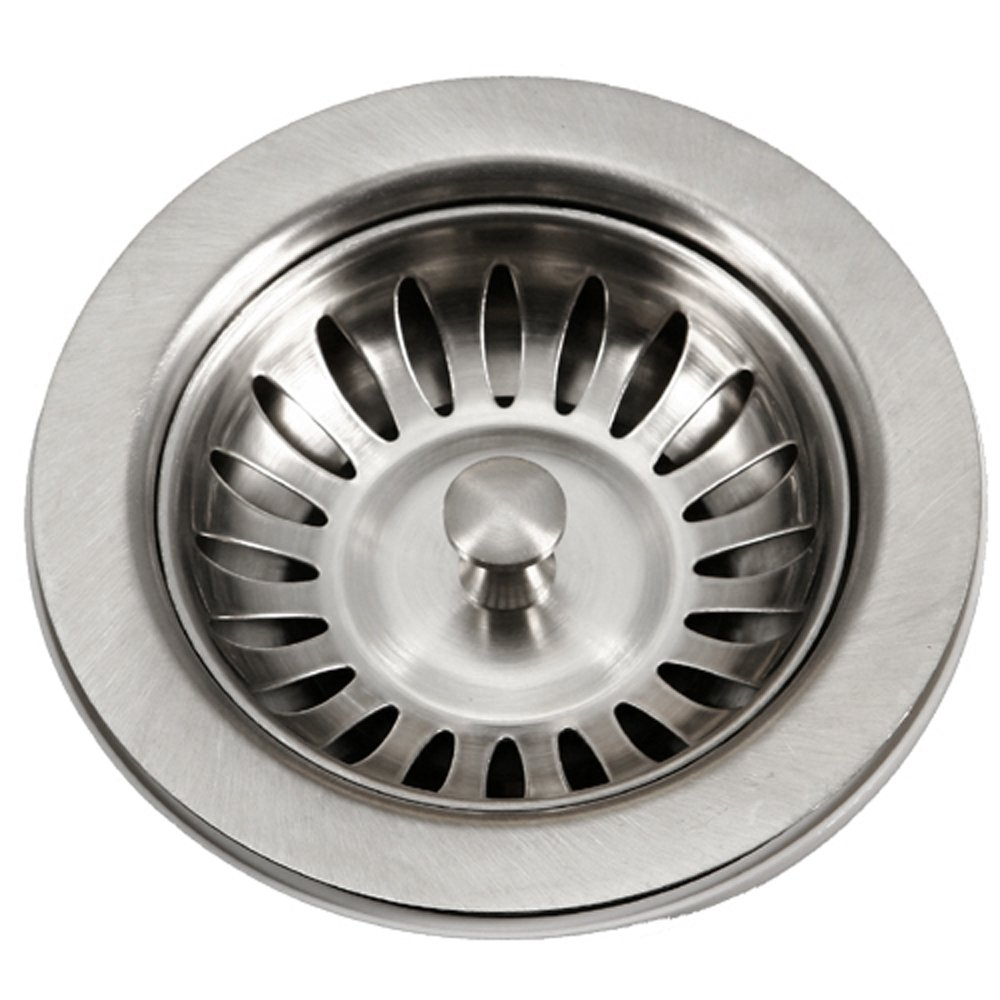 Houzer 190-9180 Sink Basket Strainer for 3.5-Inch Drain Openings ...
