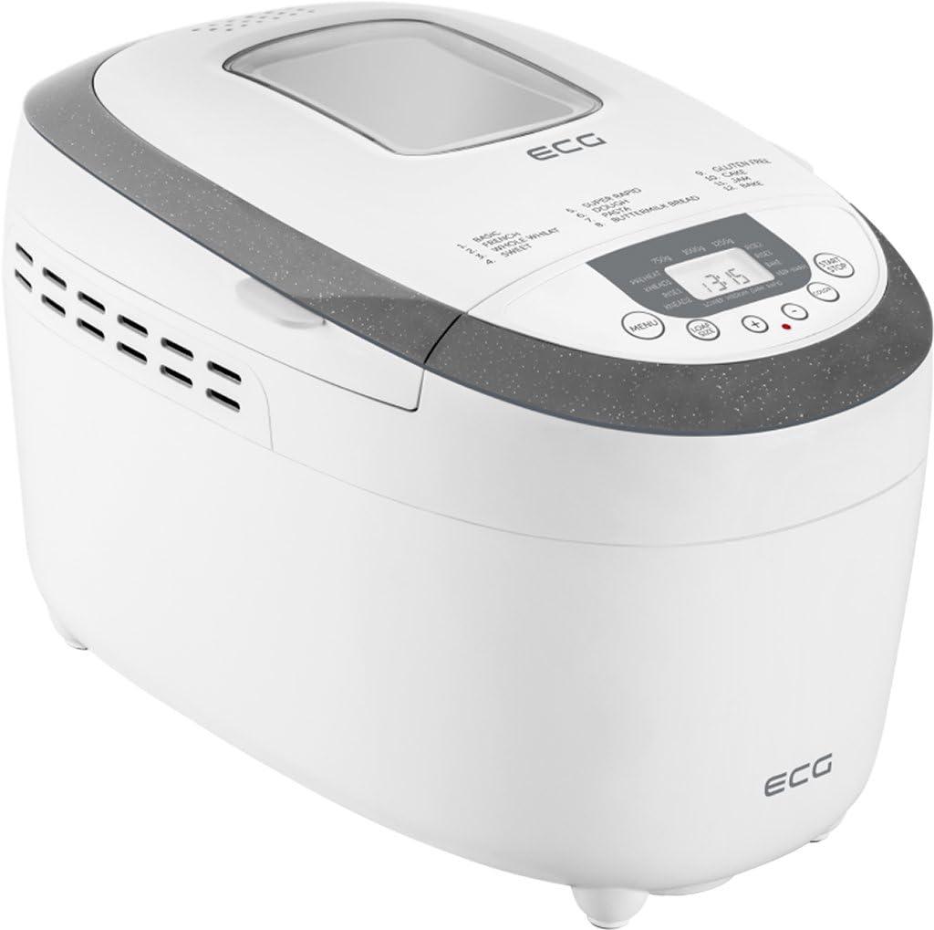ECG PCB 82120 - Panificadora (plástico), color blanco