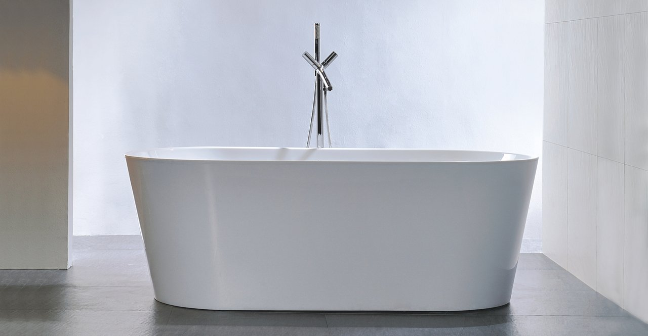 Kardiel HB-BT-AGORA-59 Agora Freestanding Acrylic Soaking Bathtub ...