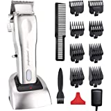 Professional Hair clippers for Men Pro Cordless Hair Trimmer Beard Trimmer Shaver Precision Trimmer Rechargeable Hair…