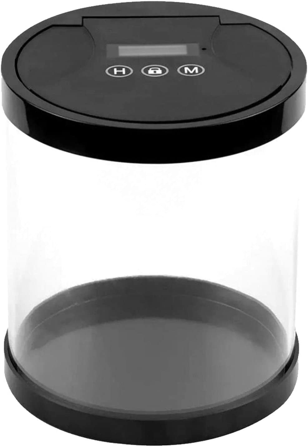 Timer Lock Container, Time Lock Box Bin,Multi Function Timed Lock Box Kitchen Storage and Piggy Bank,Ideal for Quitting Smoking, Excessive Playing of Smartphones and Games