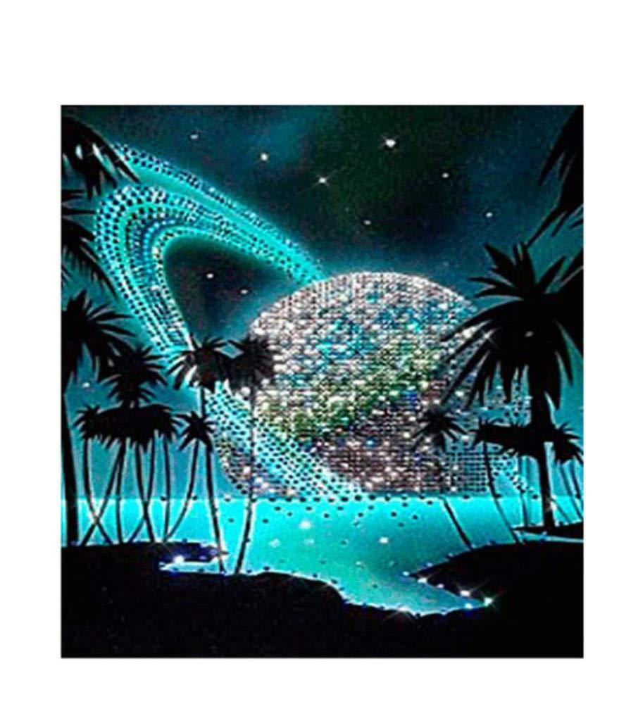 Acrylmalerei Malen Nach Zahlen Zahlen Zahlen Für Erwachsene Starry Kokosnussbaum, Grünes Meer DIY Mit Bürsten Wohnkultur-Rahmen 40X50Cm B07PFWRYH2 | Online-Shop  0f6993