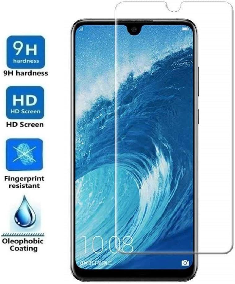 REY Protector de Pantalla para Huawei P Smart Plus 2019 - P Smart 2019 - Honor 10 Lite, Cristal Vidrio Templado Premium