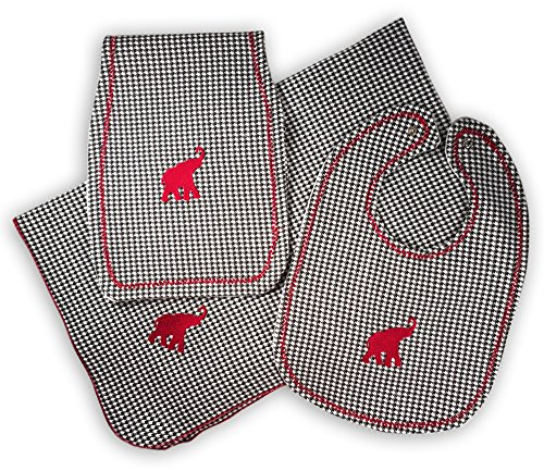 Gift For Baby Alabama Crimson Tide Nursery Bundle by Mimis Favorite (Image #5)
