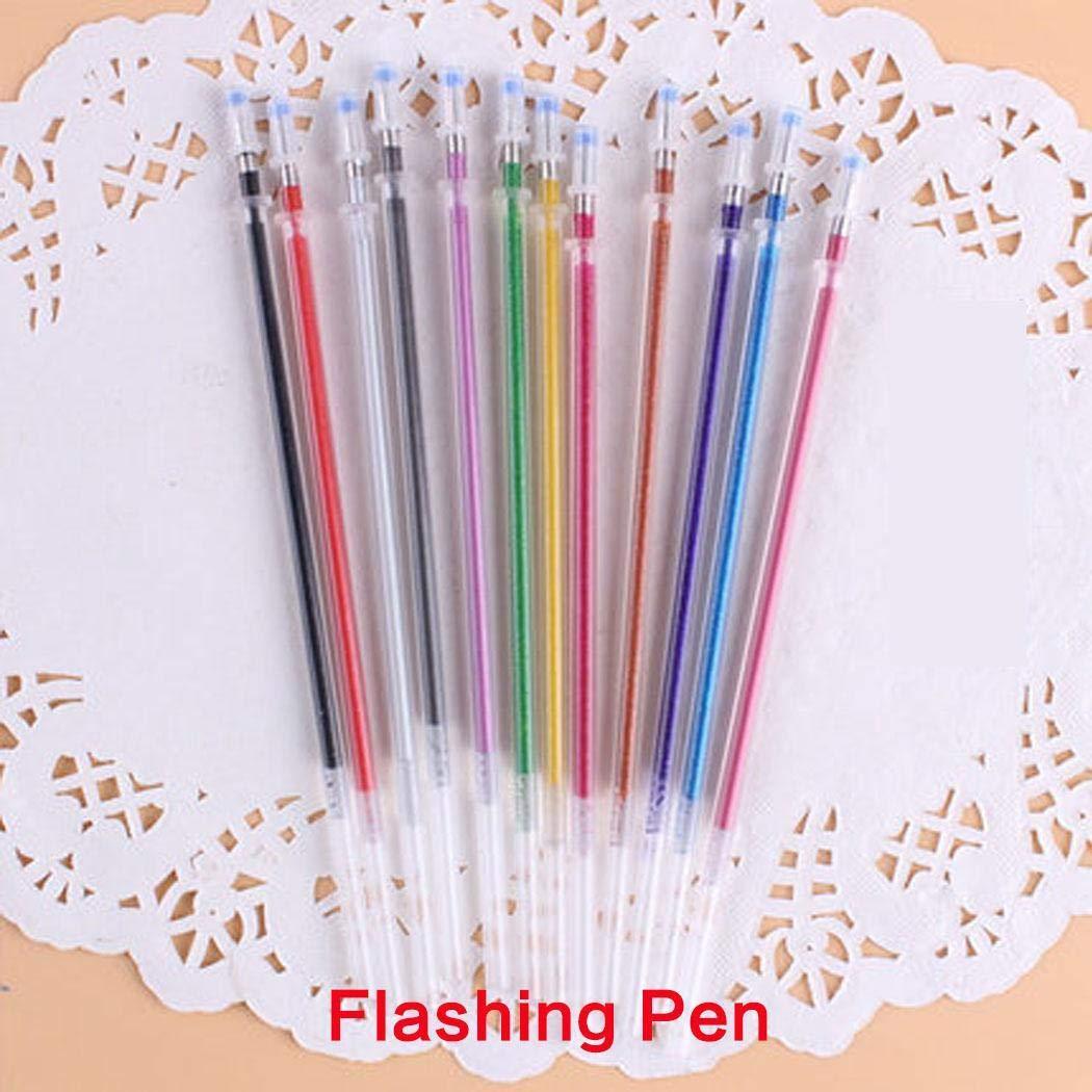 alokie Penne Gel Penna a Gel Set Multicolor penna gel per bambini e adulti per scrivere, disegnare, colorare, decorare Type36