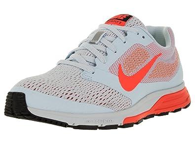 Nike Women's Air Zoom Fly 2 Blue Tint/Hypr Orange/Atmc Pink Running Shoe