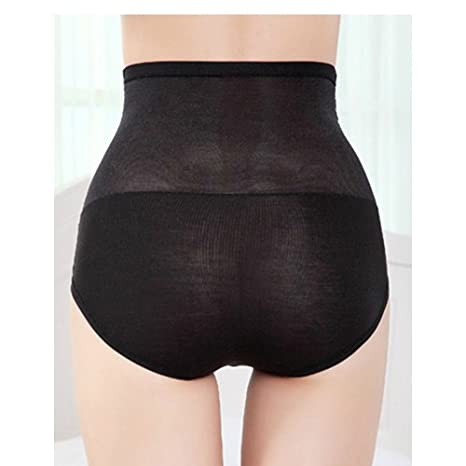 4a258e5b1aebf Artfasion Womens Light Control Full Coverage Lace Decorated Shapewear Briefs  6 Pack (one size