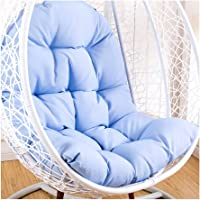 Swing Hammock Egg Chair Cushion Without Stand, Cotton Pads Removable Seat Cushions with Pillow, Overstuffed Hanging…
