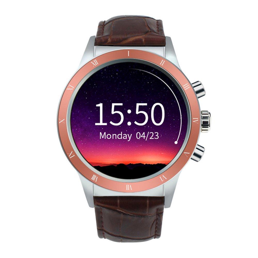 Docooler Y3 Smartwatch Reloj de teléfono AMOLED Pantalla de ...