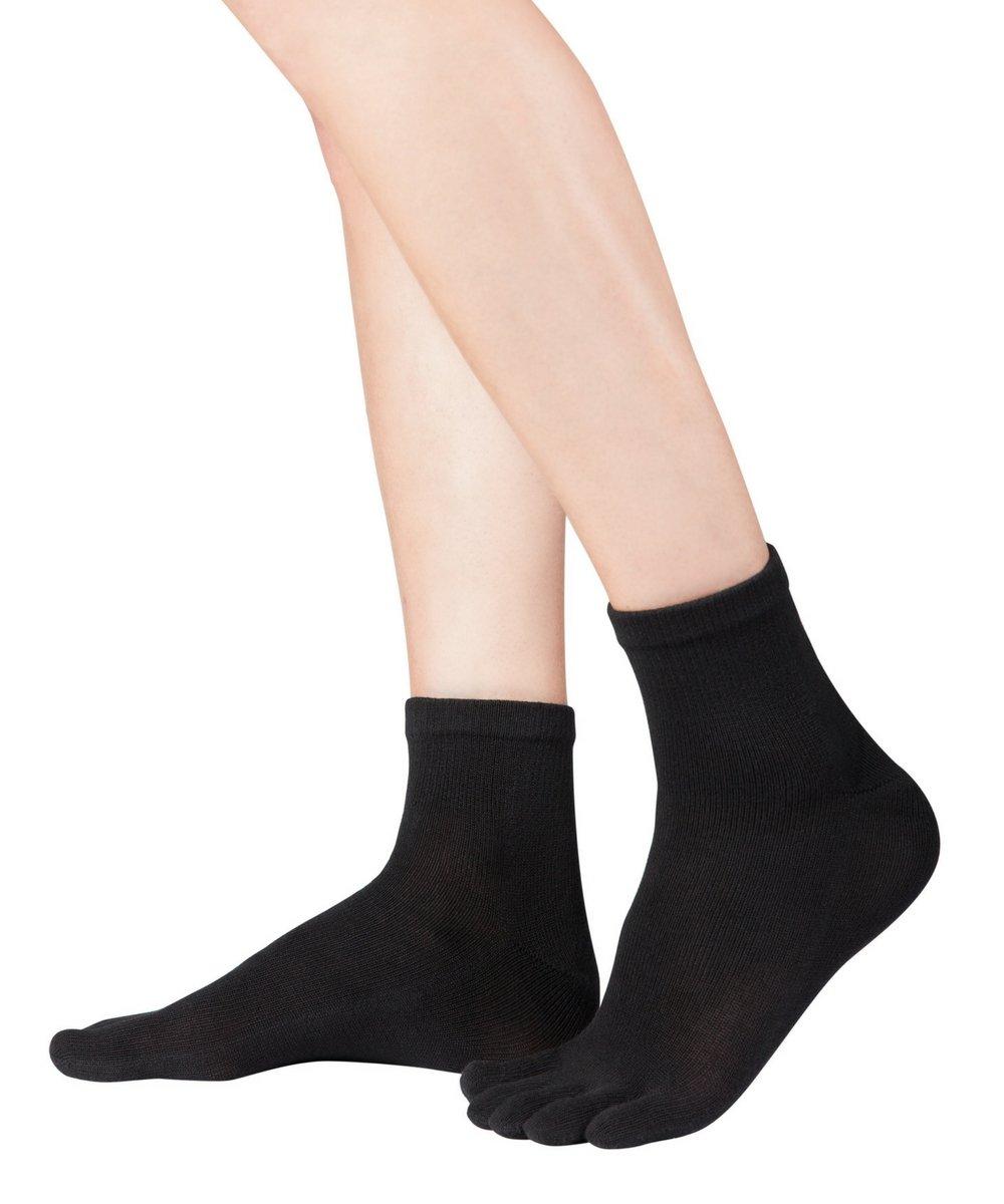 Knitido Dr. Foot® Silver Protect Kurzsocke | überknöchellange Zehensocken mit Silberfaden - zertifiz...