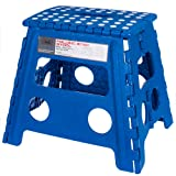 Amazon Price History for:Acko 16 Inches Super Strong Folding Step Stool for Adults and Kids, Blue Kitchen Stepping Stools, Garden Step Stool, holds up to 440 LBS (Blue)